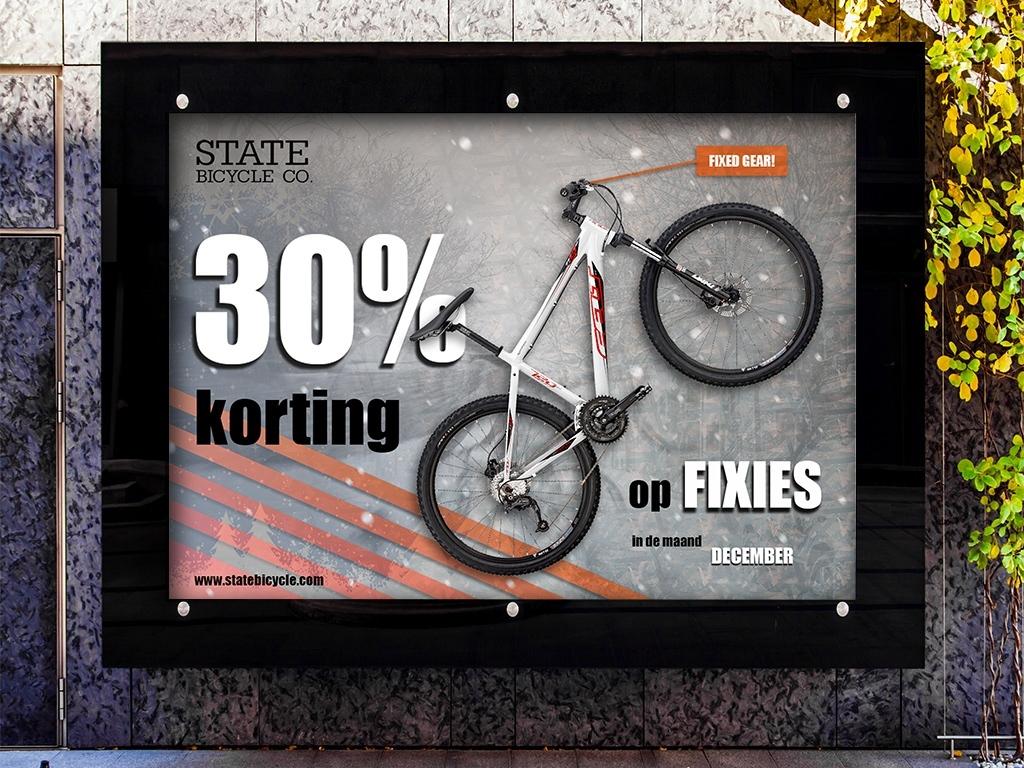 advertentie-affiche-fiets-korting