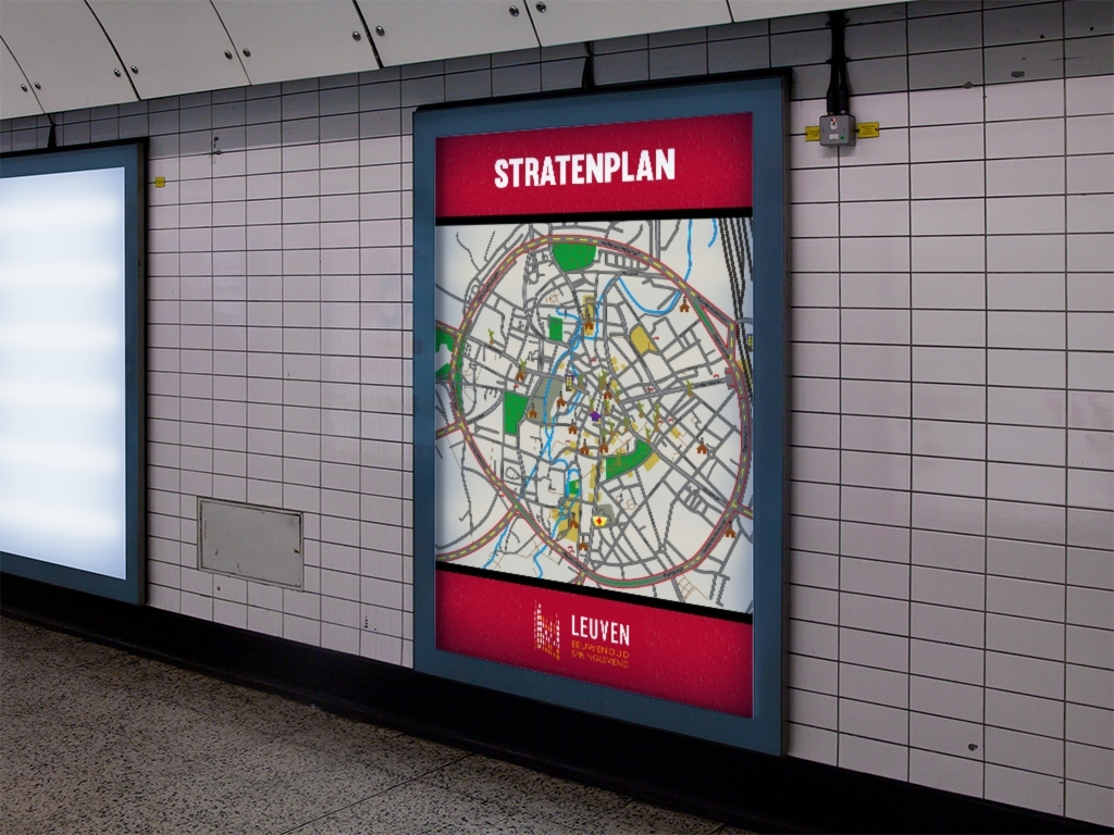 advertentie-affiche-stratenplan-leuven-centrum