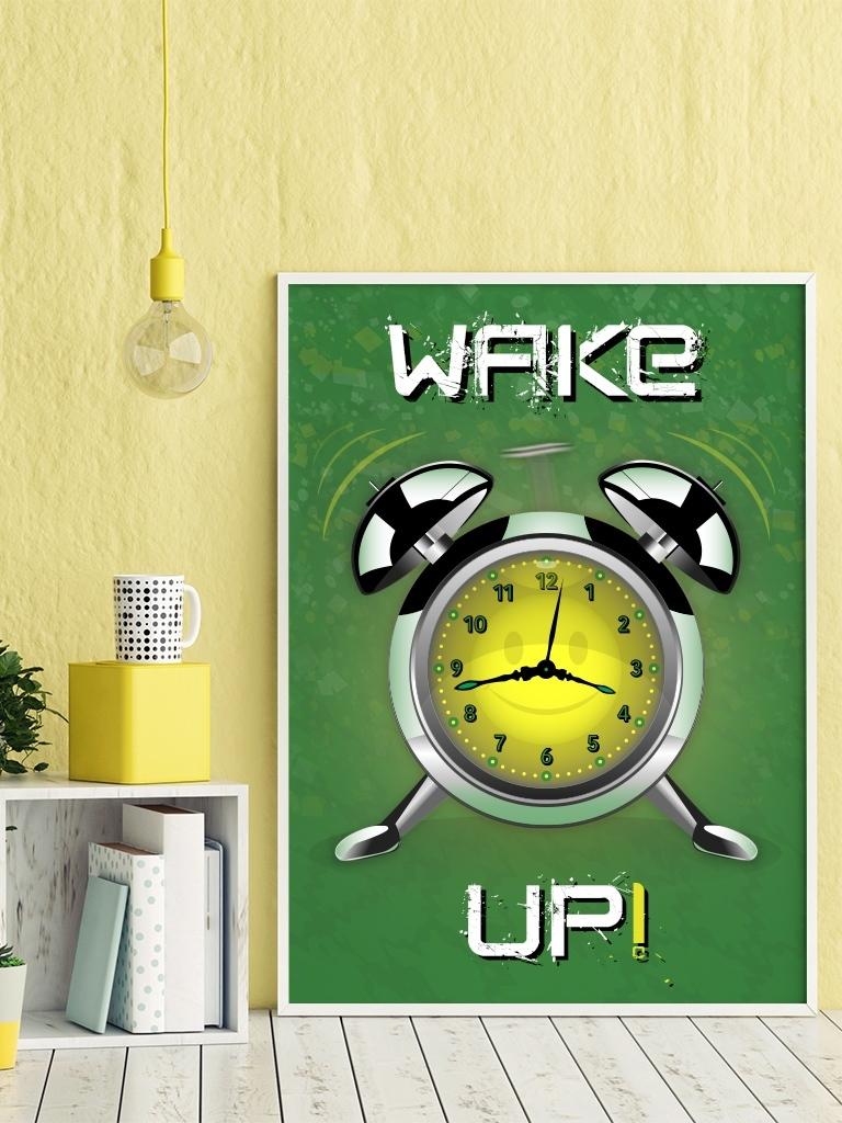 affiche-wekker-wake-up
